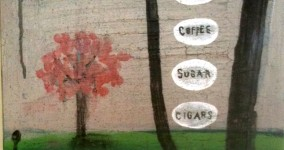 Best Wishes  (rum, coffee, sugar, cigars)  2011, SOLD