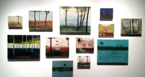 wall of landscapes, 2012