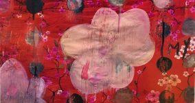 1 Pink Flower, 2018